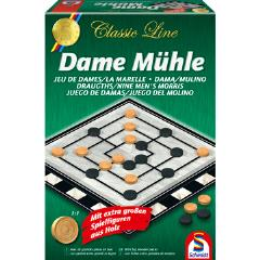 Dame Muhle (Checkers & Nine Men's Morris)