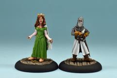 Queen Guinevere & Sir Noere