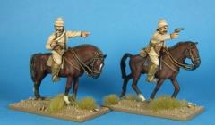 British Mounted Officers
