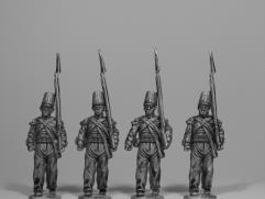 British Infantry Marching w/Shako - Flank Company