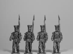 Bengal Native Infantry Marching - Flank Company