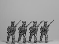 British Gurkha Infantry Advancing