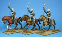 British Light Dragoons - Charging