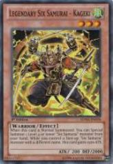 Legendary Six Samurai - Kageki (Super Rare)