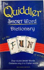 Quiddler - Short Word Dictionary (2nd Edition)