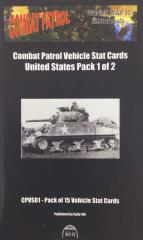 Vehicle Stat Cards - United States Pack 1