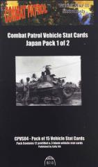 Vehicle Stat Cards - Japan Pack 1