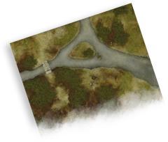 Playmat - Battlefield (3'x3')