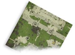 Playmat - Jungle Shrine (3'x3')