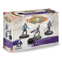 Avaren Elves Elites - Battlemasters, Slaves, Void Runners
