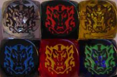 Promo Dice - Promo Dragonmasters w/Dragonlord (6)