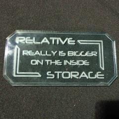 Sign B - Relative Storage