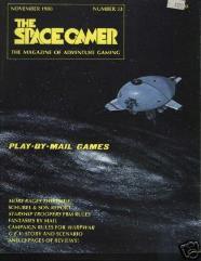 """#33 """"G.E.V. Scenario, WarpWar Campaign Rules"""""""