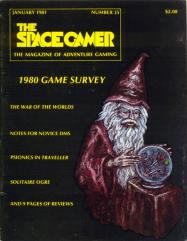 "#35 ""Stomp Variants, Traveller Psionics, Solitaire Ogre"""
