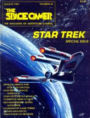 """#42 """"Star Trek Special Issue, Metamorphosis Alpha Notebook"""""""