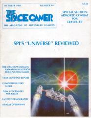 """#44 """"Killer Scenario, Radiation in D&D, AVF's in Traveller"""""""