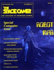"""#45 """"Starweb, Killer, Car Wars Designer Notes, Grimtooth's Traps"""""""