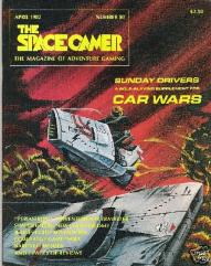 "#50 ""Car Wars, Traveller Adventure - Periastron"""