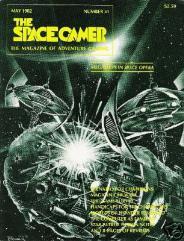 "#51 ""Megaships in Space Opera, Champions Scenario, TFT, Magic in Car Wars"""