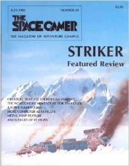 """#53 """"Striker, Creature that Ate Sheboygan Variant, Traveller Adventure - The Newcomers"""""""