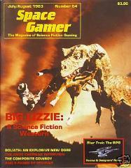 "#64 ""Big Lizzie Adventure, Star Trek - The RPG, Goliath Ogre"""