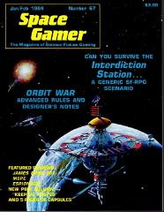 "#67 ""Orbit War Advanced Rules, Interdiction Station Sci-Fi Scenario"""