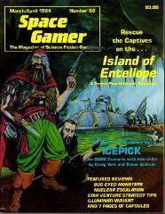 "#68 ""Icepick - Ogre Scenario w/New Units, Illuminati Variant, Island of Entellope - Post-Holocaust Adventure"""