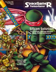 "#79 ""Traveller - 2300, Talisman, Teenage Mutant Ninja Turtles Adventure"""