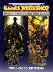 Specialist Games & Classic Range Catalog (2005-2006)