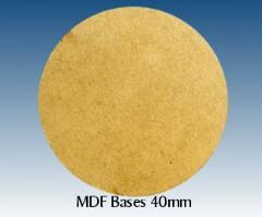40mm Round MDF Bases (10)