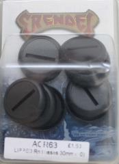 30mm Round Lipped Bases (10)