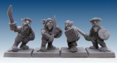 Steppe Warriors w/Hand Weapons