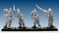Linen Armor w/Swords #2