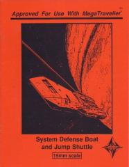 System Defense Boat and Jump Shuttle (1st Printing)