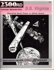 Starship Deck Plans - S.S. Virginia