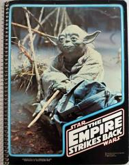 Empire Strikes Back Spiral Notebook - Yoda