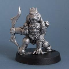 Harrow Boarfell - Dwarf Huntsman