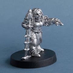 Narissa Blackwater - Dwarf Necromancer