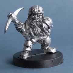 North Garrox - Dwarf Miner
