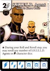 S.H.I.E.L.D. Agent - Need to Know Basis