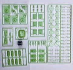 Miniatures Set 1 - Glow in the Dark Paneuro Units