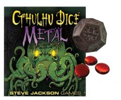 Cthulhu Dice Game - Metal