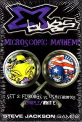 X Bugs Set #2 - Flyborgs vs. US Arthropods (Purple/White)