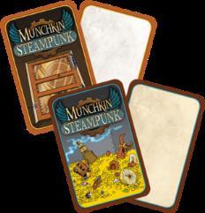 Munchkin Steampunk Blank Card Set