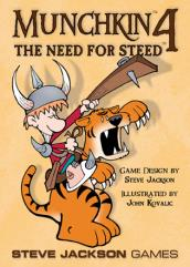 Munchkin 4 - The Need for Steed (1st Printing)