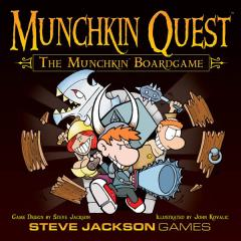 Munchkin Quest - The Munchkin Boardgame