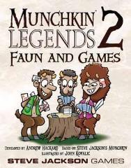 Munchkin Legends 2 - Faun & Games