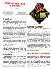 Dino Hunt Demonstration Edition/Expansion