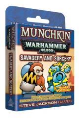 Munchkin Warhammer 40,000 - Savagery and Sorcery