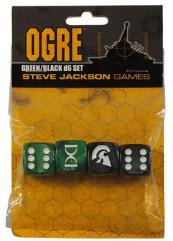 Ogre Dice Set - Green & Black